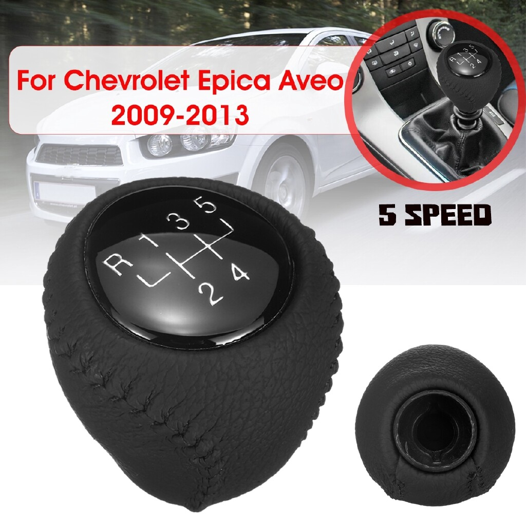 Steering, Seats & Gear Knobs - Black 5 Speed Car Shift Knob For Chevrolet Epica Aveo Buick Daewoo Nubira 09-13 - Car Replacement Parts