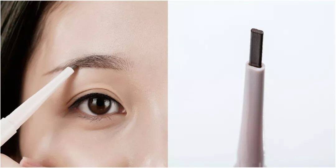 Mageline 3-in-1 Sculpturing Eye Brow Pencil #01 Dark Brown Colour