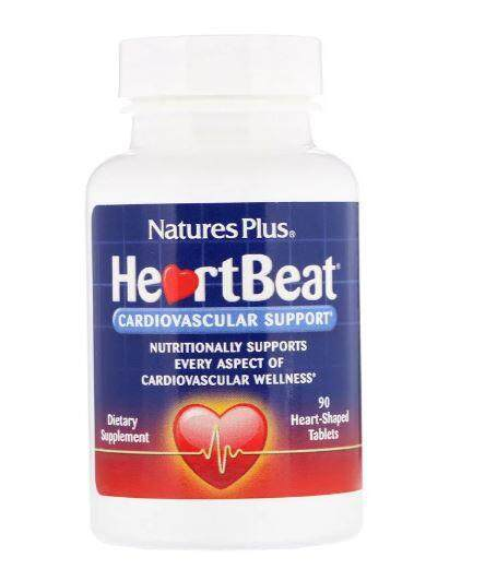 Nature's Plus, HeartBeat, Cardiovascular Support, 90 Tablets