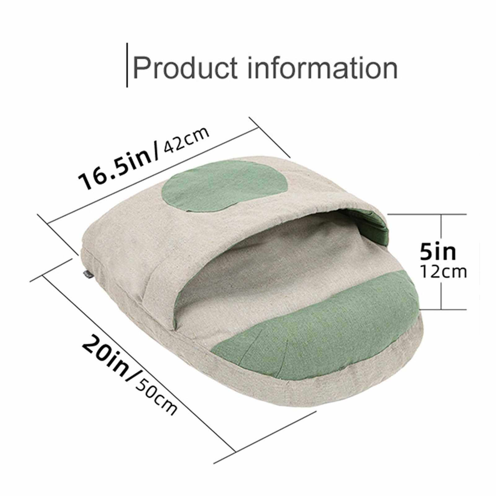 Cat House Cat Home Cat Bed for Small Cats House for Small Pets Cat Cave Bed Cat Sleeping Bed Cave Bed for Small Pets (Beige)
