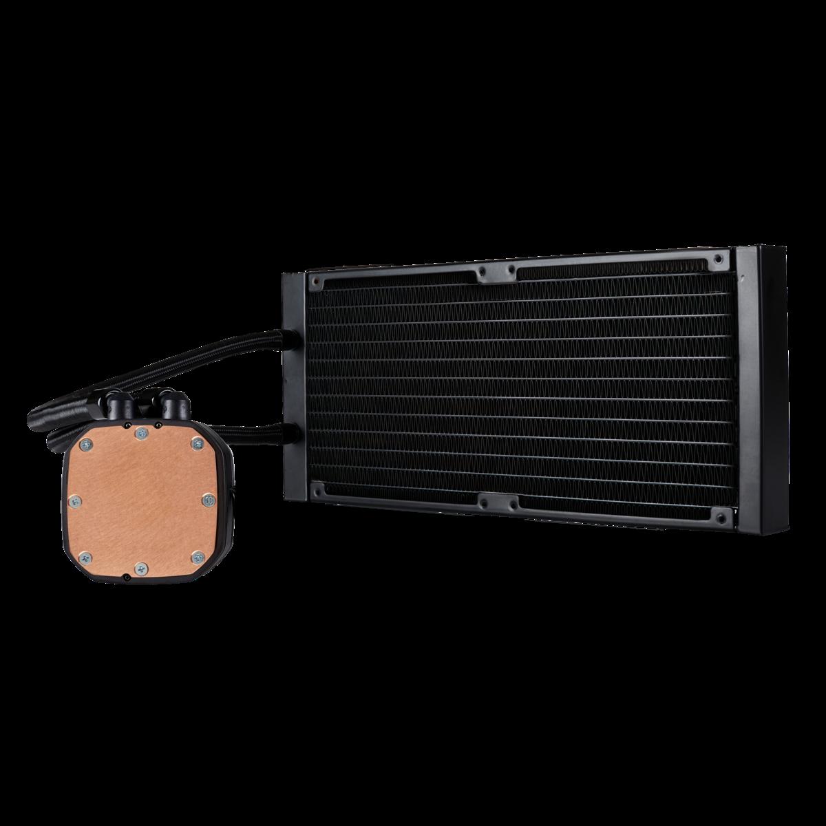 Corsair Hydro Series Cooling Fans H115i RGB Platinum 280mm Water AIO Liquid CPU Cooler, 2000RPM (CW-9060038-WW)