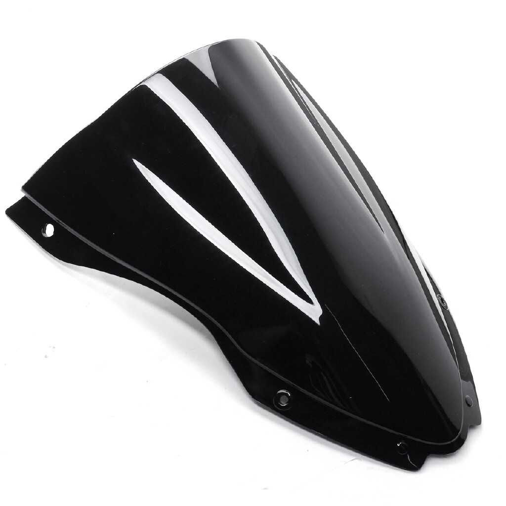 Moto Accessories - Front Windshield WindScreen Wind Screen Deflector For Kawasaki ZX6 ZX10R 2016-17 - Motorcycles, Parts