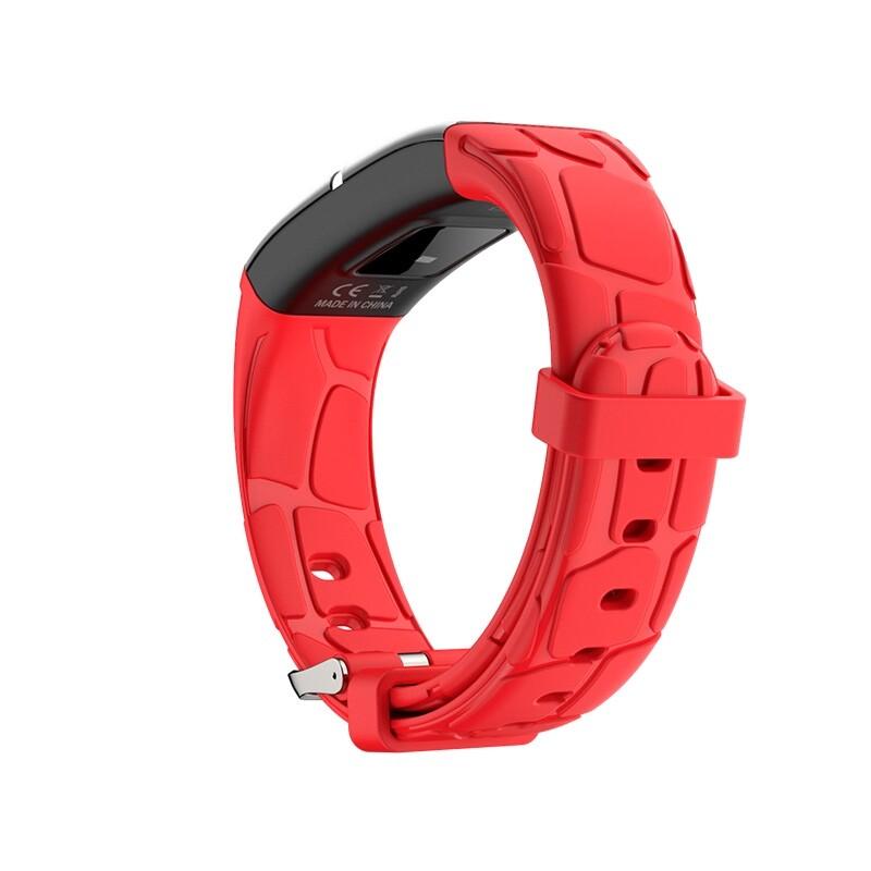Smart Watch - E58 Blue Light Remind Sport Target SETting Monitor USB Charging Smart Watch-3c - BLACK / BLUE / RED