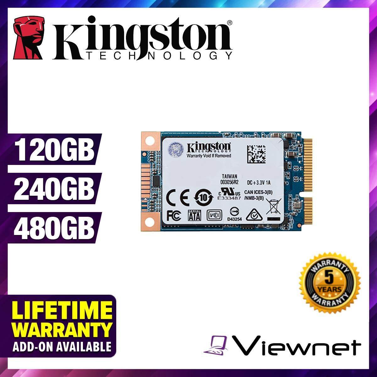 Kingston MSATA UV500 120GB/240GB/480GB SSD Solid State Drives (SUV500MS/120G/SUV500MS/240G/SUV500MS/480G)