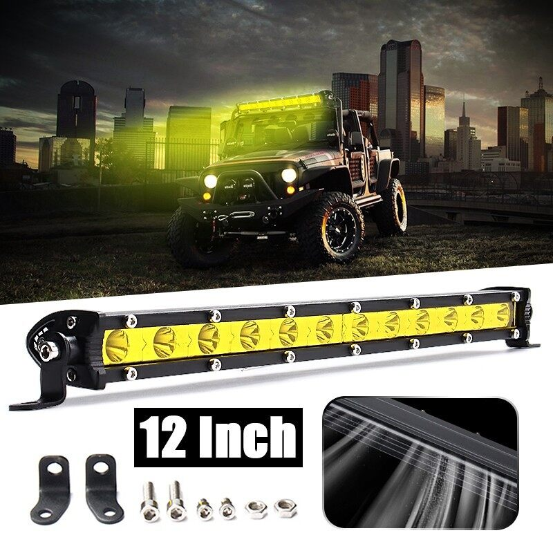 Car Lights - Nilight 12 \'\' 36w LED Work Light Spot Led Bar - Replacement Parts