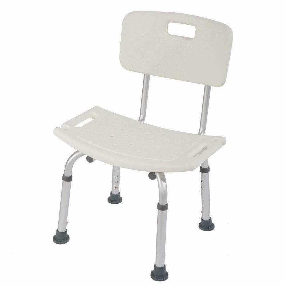 People's Choice Adjustable Height Elderly Bath Tub Shower Chair Bench Stool Seat Non-slip (2)