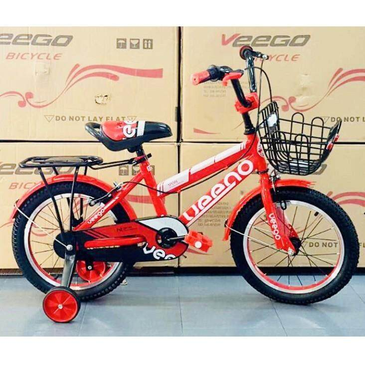 16  Veego Kids Bicycle 1602 with Alloy Rim and Basket