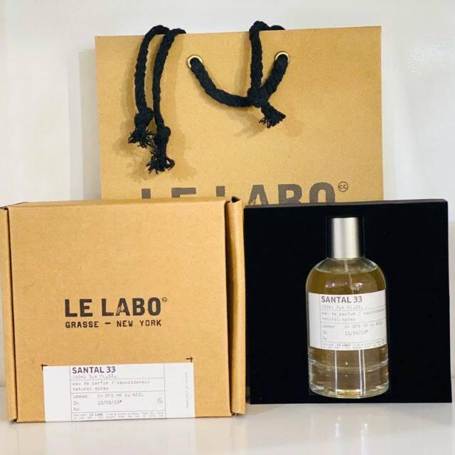 Ori Box HQ_Le_Labo Grasse - New York Santal 33 Eau De Parfum 100ml