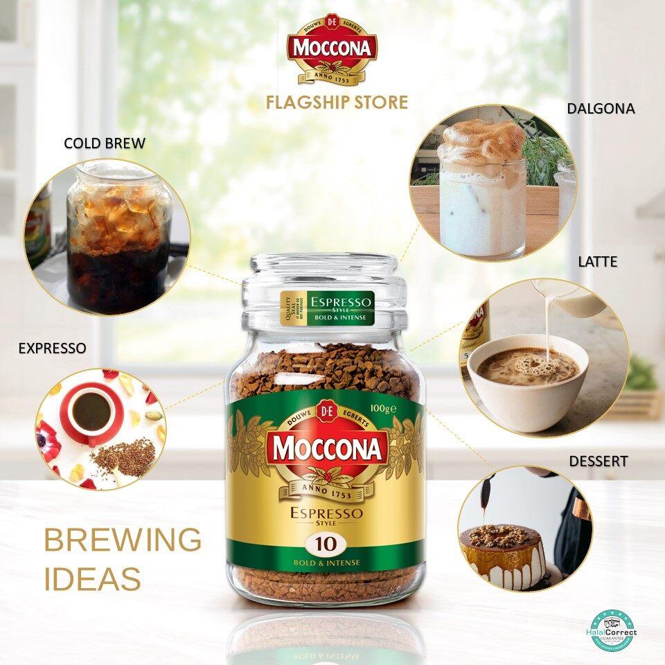 Moccona Espresso Style Freeze Dried 10 Coffee 100g X 3 Jar New Pgmall
