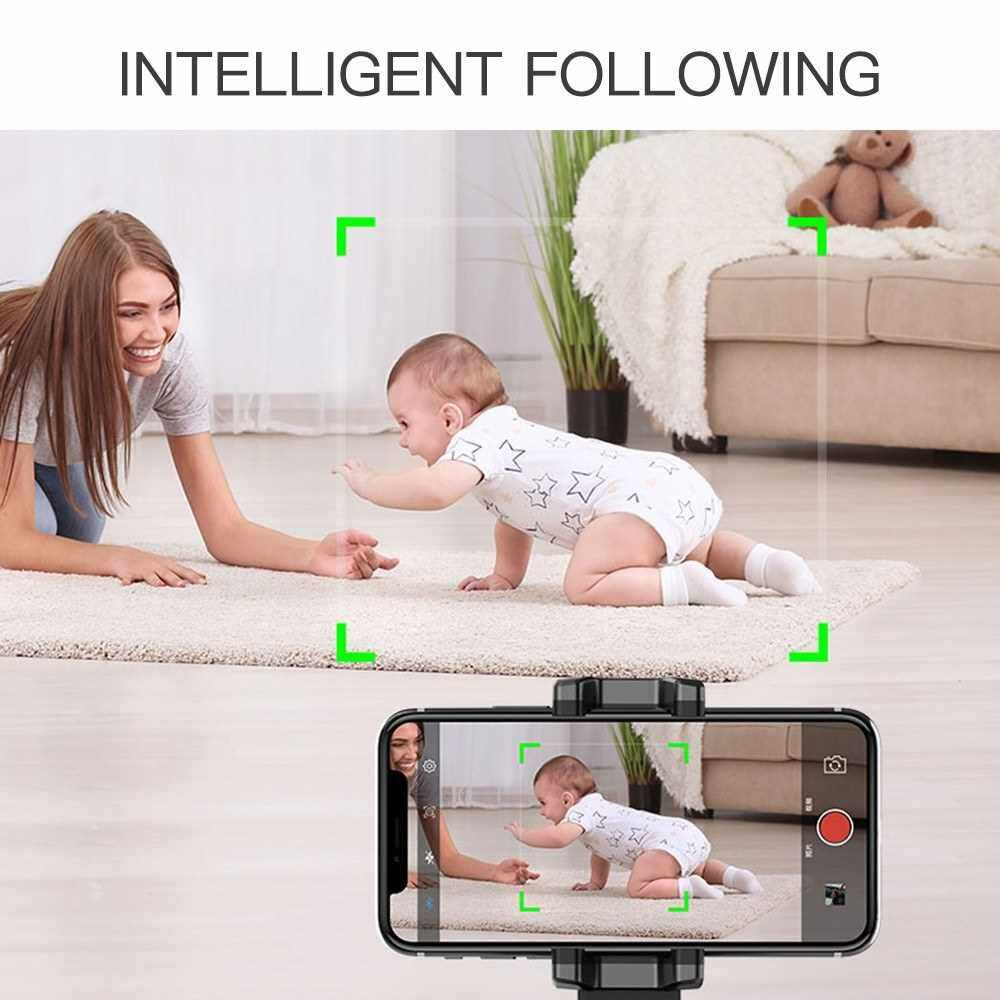 Portable Intelligent 360 Following Shot Holder Face Recognition Things Tracing Photo Camera Device (Black)
