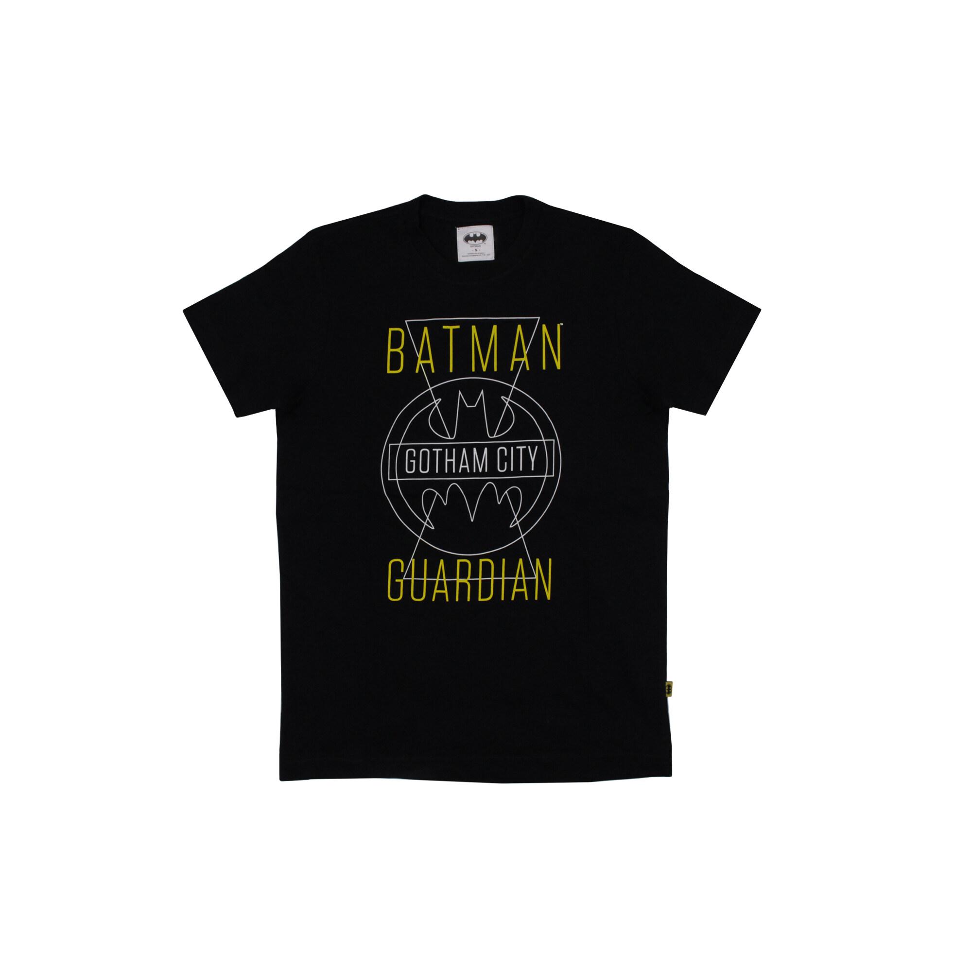 Dc Comics Justice League Batman Man Tee- Black Colour