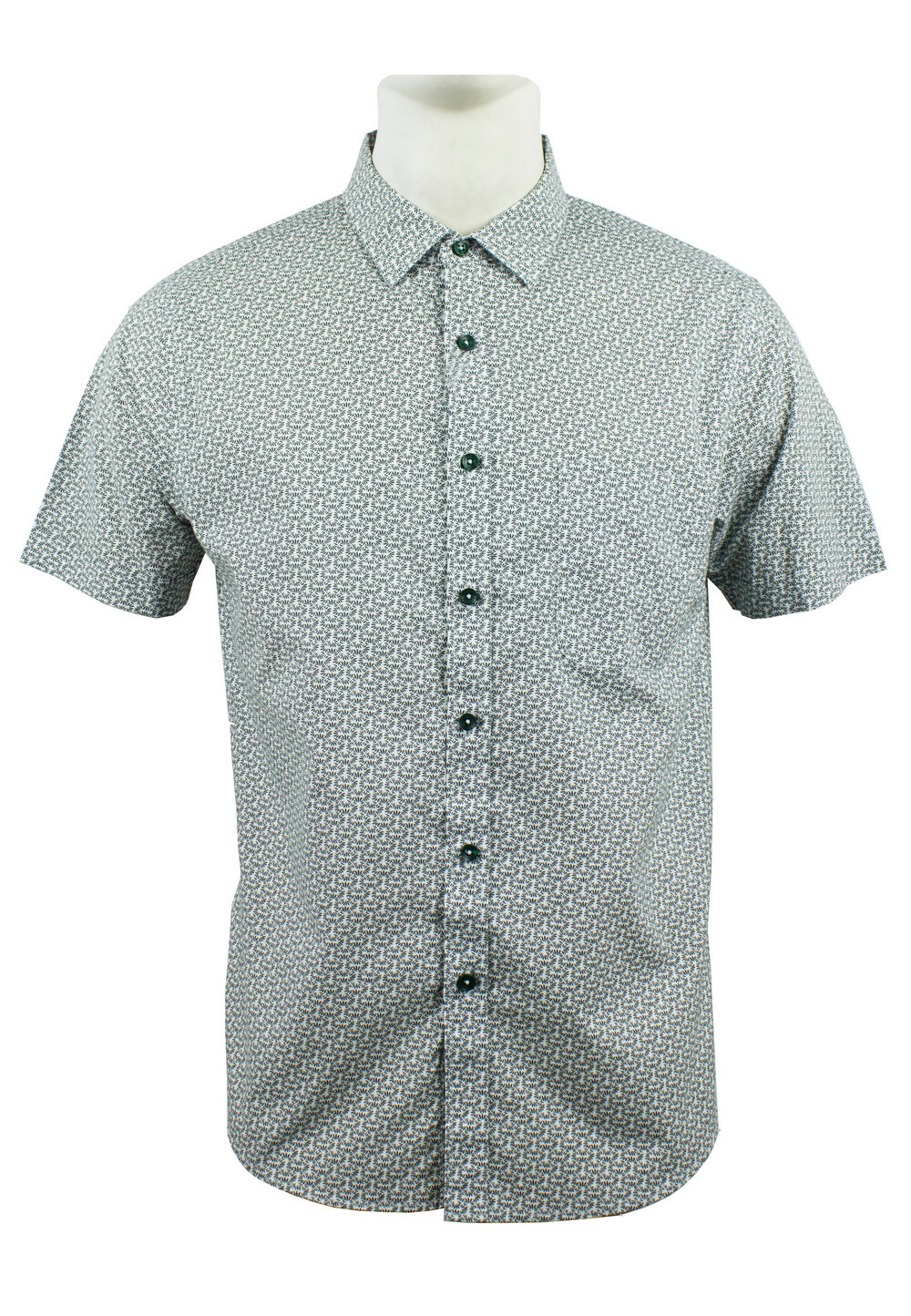 Men's Printed Short Sleeve Shirt 885