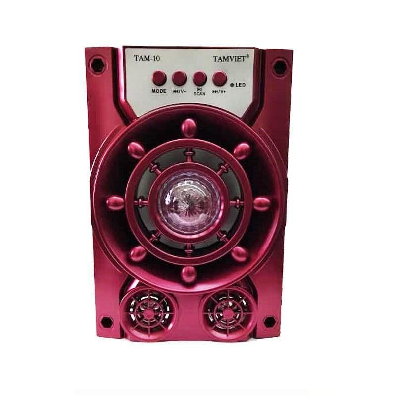 Tamviet X-Bass Portable wireless Speaker Tam-10 (Fresh Import) New Arrival BLACK