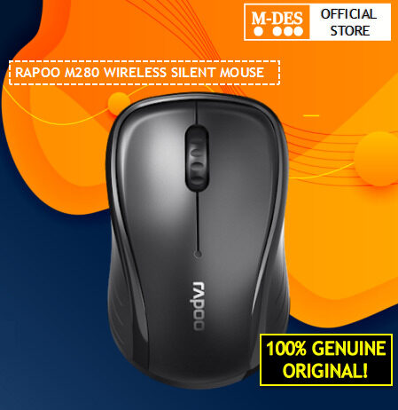 Rapoo M280 Silent Wireless Mouse