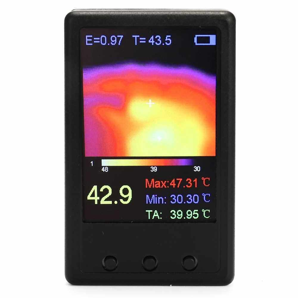 Best Selling 2.4 Inch Display Screen Portable Handheld Thermograph Camera Infrared Temperature Sensors Digital Infrared High precisions Thermal Imager (Standard)