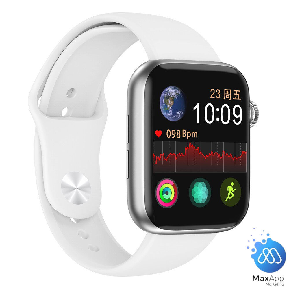 [READY STOCK] X7 Bluetooth Call Full Touch Screen Sports Fitness Tracker Heart Rate Blood Pressure Smart Watch Pedometer