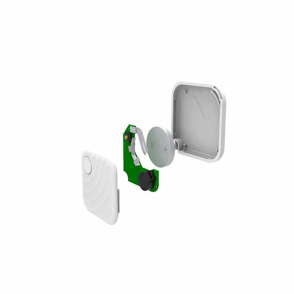 FD02 Key Finder GPS Location Bluetooth Smart Tracker (White)