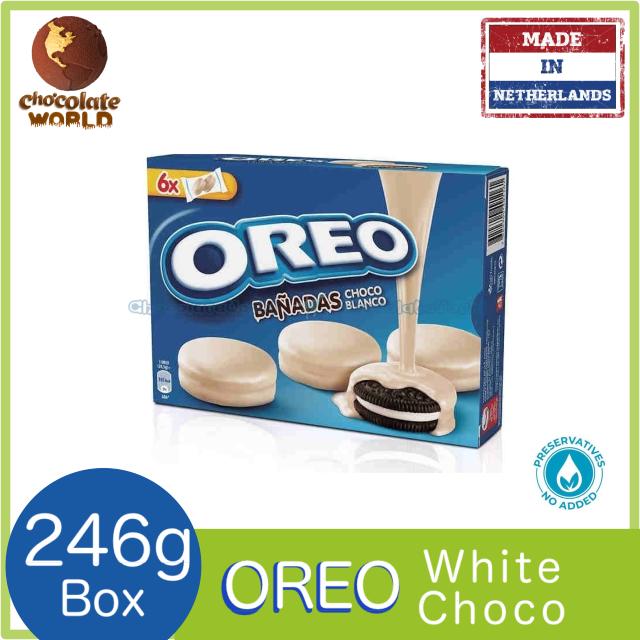 Banadas Oreo White Chocolate 246g (Made in Netherland)