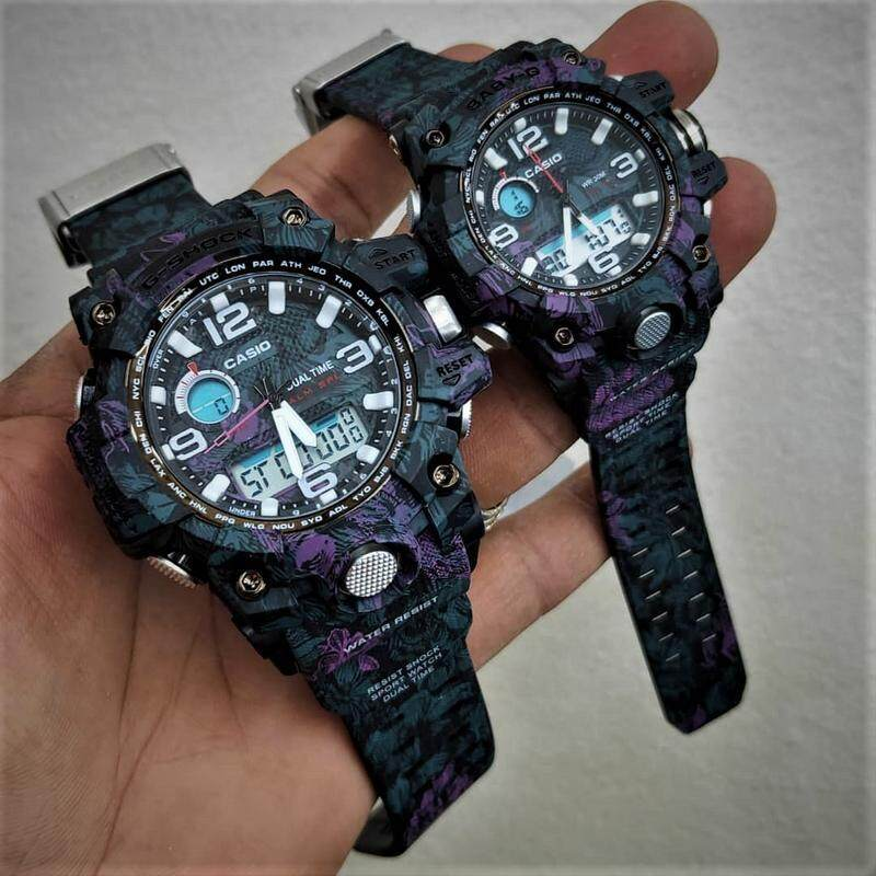 Sports Edition Casio_G-Shock_And Baby_G FLORA Color Couple Set For Men And Women