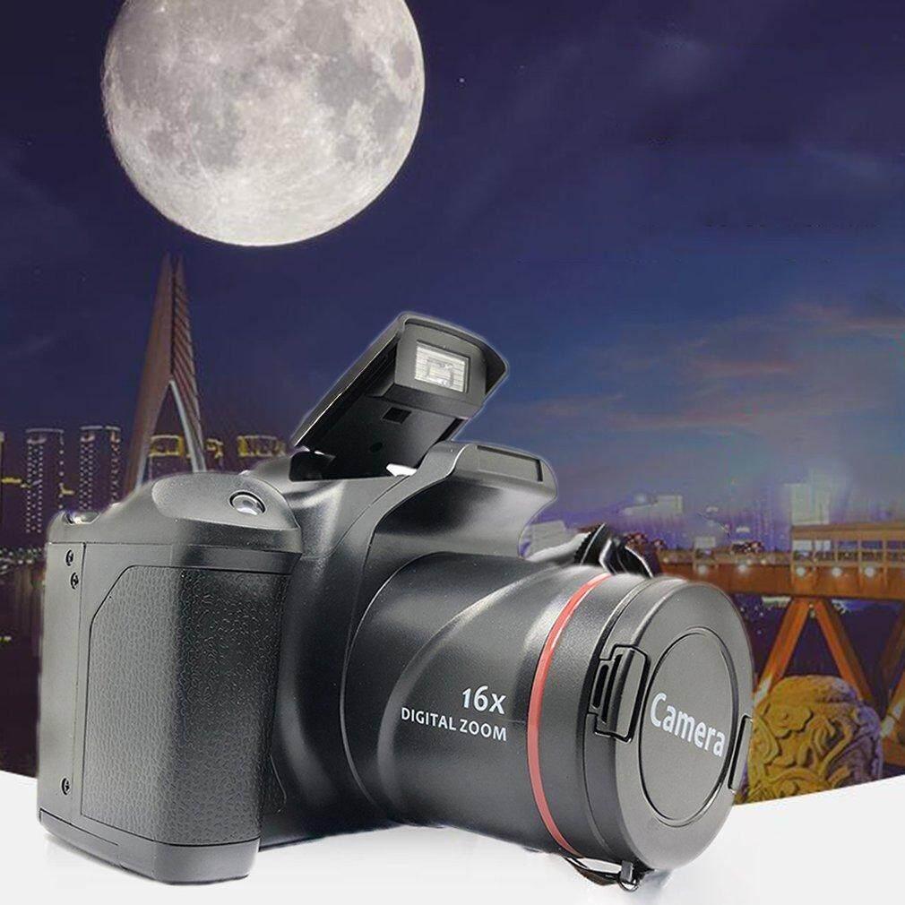 Máy ảnh kỹ thuật số XJ05 SLR 4X màn hình LCD 2.4 inch máy ảnh màu đen sang trọng độ phân giải 3MP-12MP - INTL