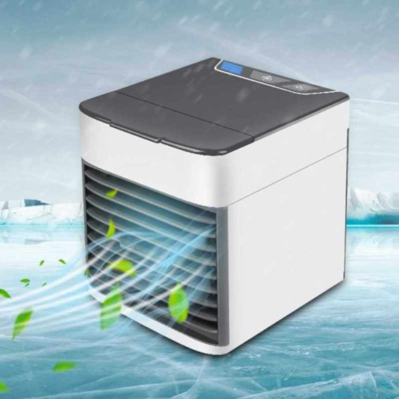 [ While Stock Last ]Fan For Small Air Conditioning Unit Portable USB Charge Low Voice Domestic Use Air Cooler (Standard)