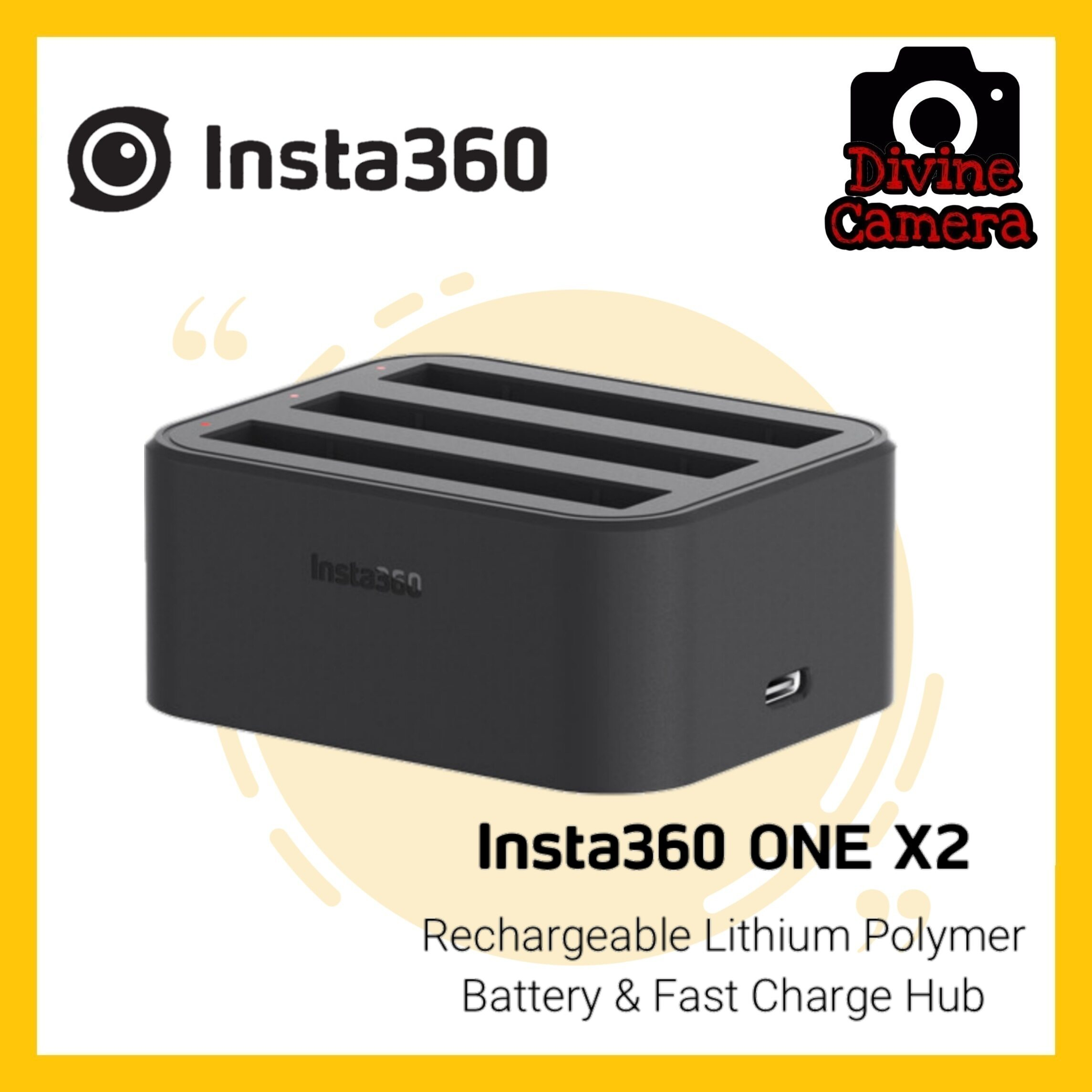 Insta360 Fast Charging Hub for ONE X2