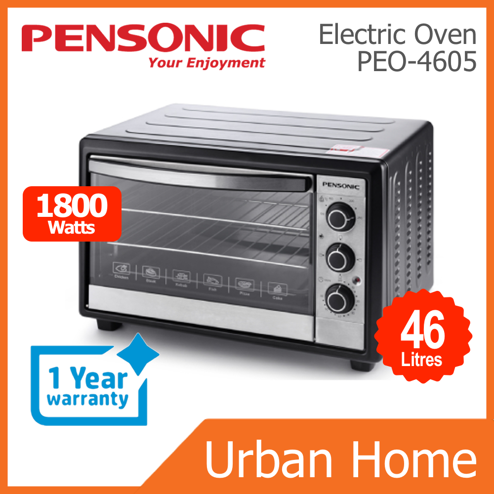 PENSONIC 46L Multi Function Electric Oven with Rotisseries Function (PEO-4605/PEO4605)