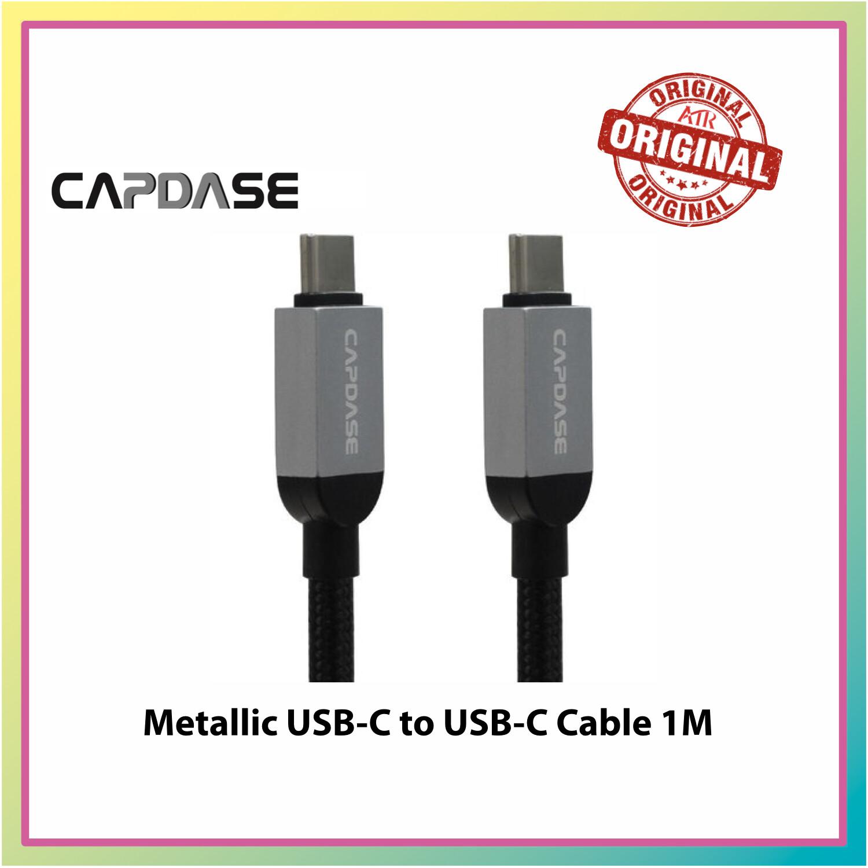 Capdase Metallic USB-C to USB-C S/C Cable CC10G 1M