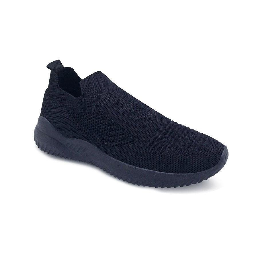 XES Ladies BSLCEV30 Comfort Sneakers (Pink Black)