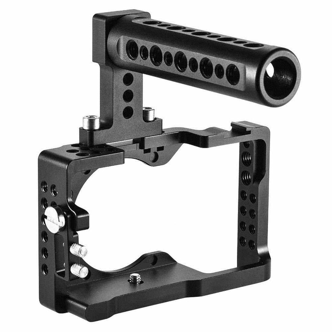 Best Selling Andoer Aluminum Alloy Camera Cage for Sony A6500 ILDC Camera (Black)
