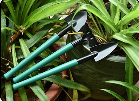 (Ready Stock) 10 Pieces Gardening Tools Set Garden Work Set Gardening Pruning Shears-园艺工具