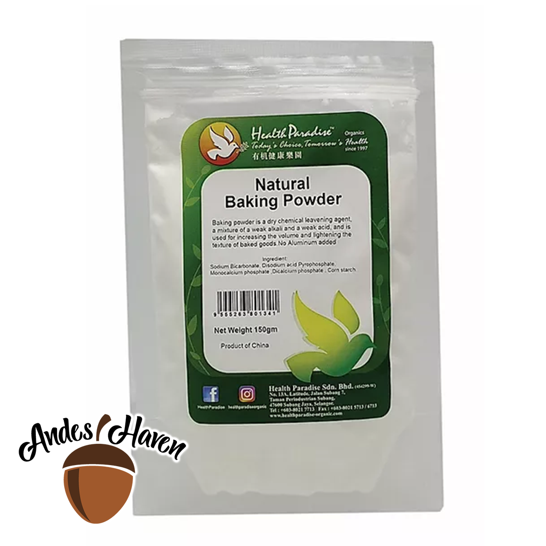 【Health Paradise】Natural Baking Powder - 150g