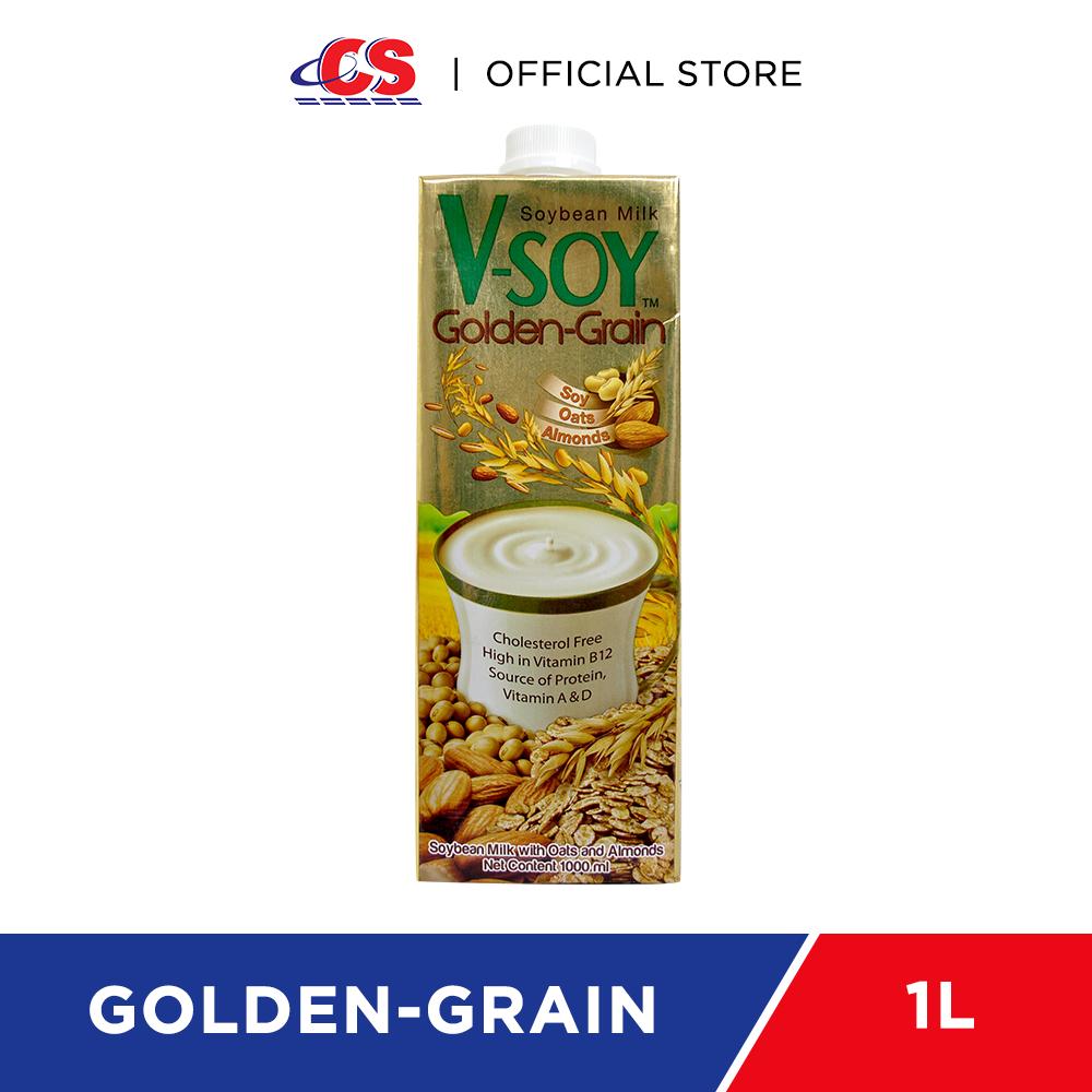 V-SOY Golden Grain Soya Milk 1L