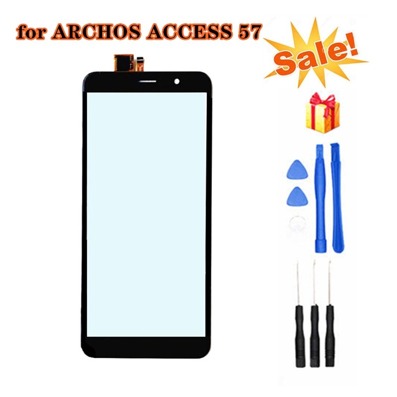 For 5.7 ARCHOS ACCESS 57 4G Black Touch Screen Digitizer Replacement Parts with Repair Tools