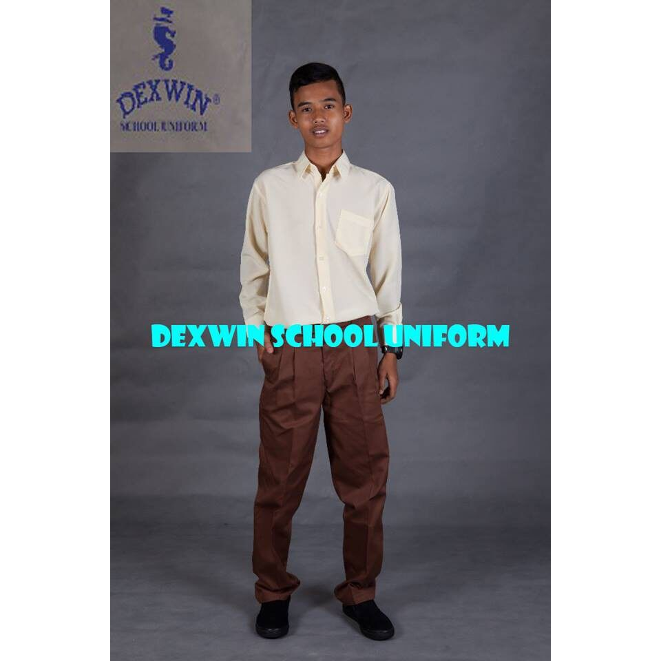 seluar koko tiada getah kain cotton pakaian sekolah mrsm mara