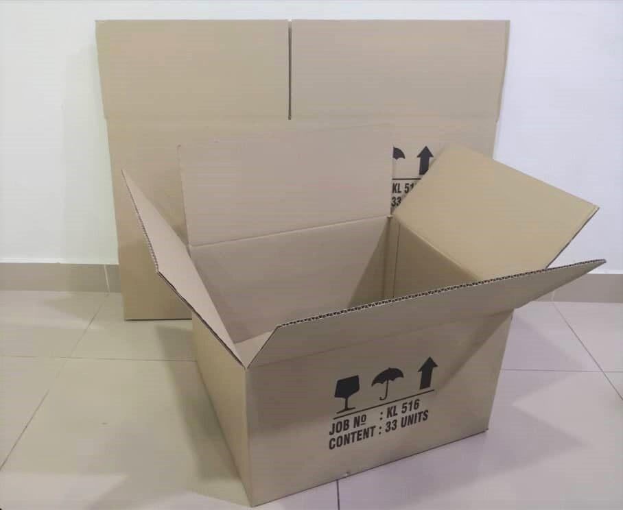 10pcs Printed Carton Boxes (L478 X W420 X H282mm)