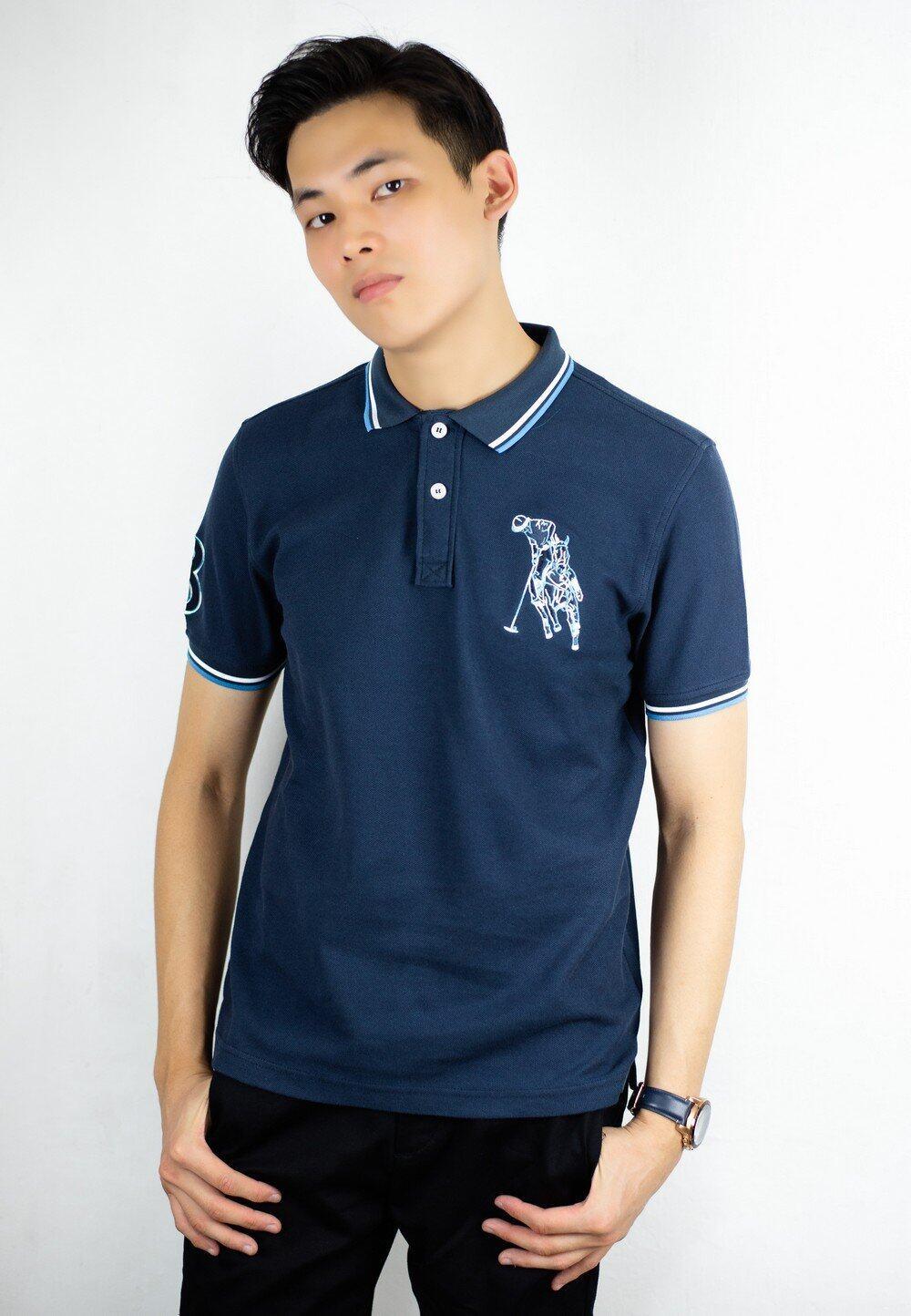 Polo Tee with Polo Embroidery 644