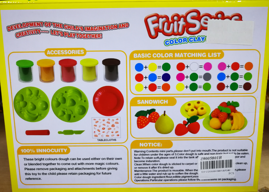 Small Mini Wonderful Color Clay DIY Dough set Funny Children Toys Series Free Tools and Accessories For Kid DIY Educational Toy Kids Children toys for girls