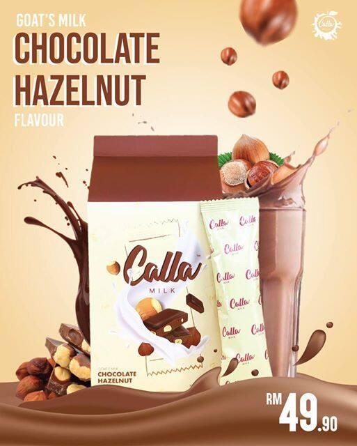 HOT SELLING NEW CALLA MILK CHOCOLATE HAZELNUT
