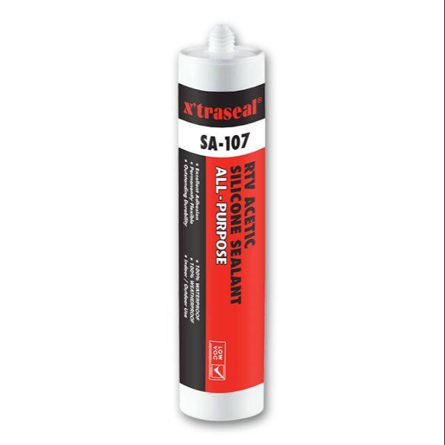 X'traseal SA-107 All-Purpose Acetic Silicone Sealant (280GM)
