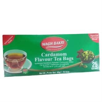 Wagh Bakri Cardamom Tea (25 teabags)