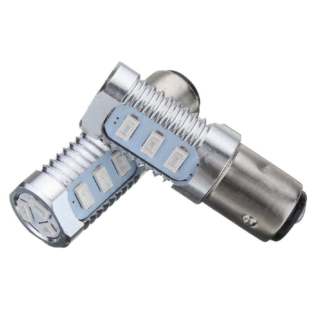 Car Lights - 2x 1157 LED Flashing Universal Strobe Blinking Tail Stop Brake Lights Bulbs Red - Replacement Parts