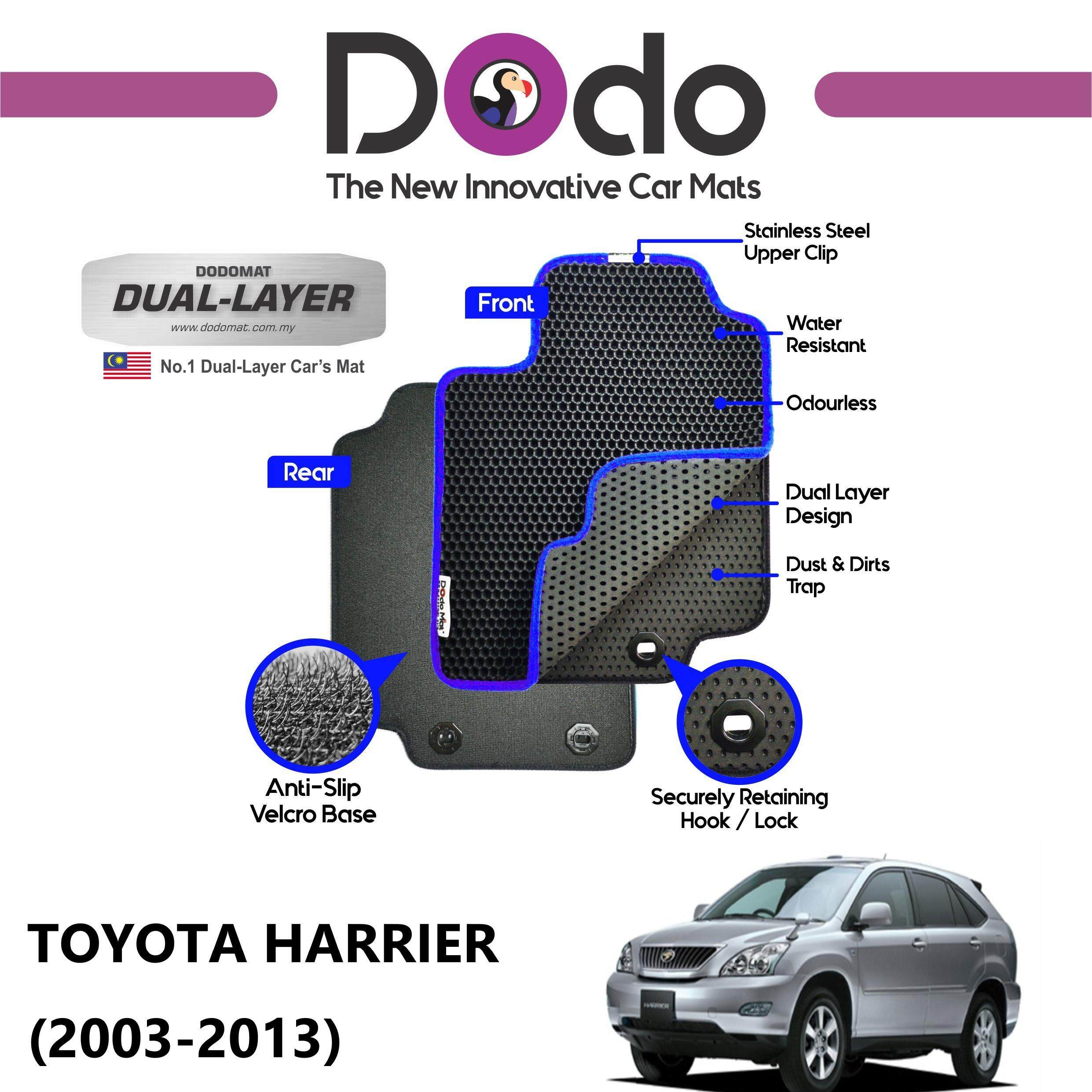 DODOMAT Car Mat TOYOTA HARRIER (2003-2013) BASIC