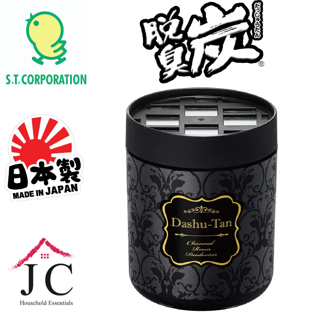 [Official Distributor] JC Household Japan ST Corporation Dashutan Activated Charcoal Deodorizer for Living Room (250g)