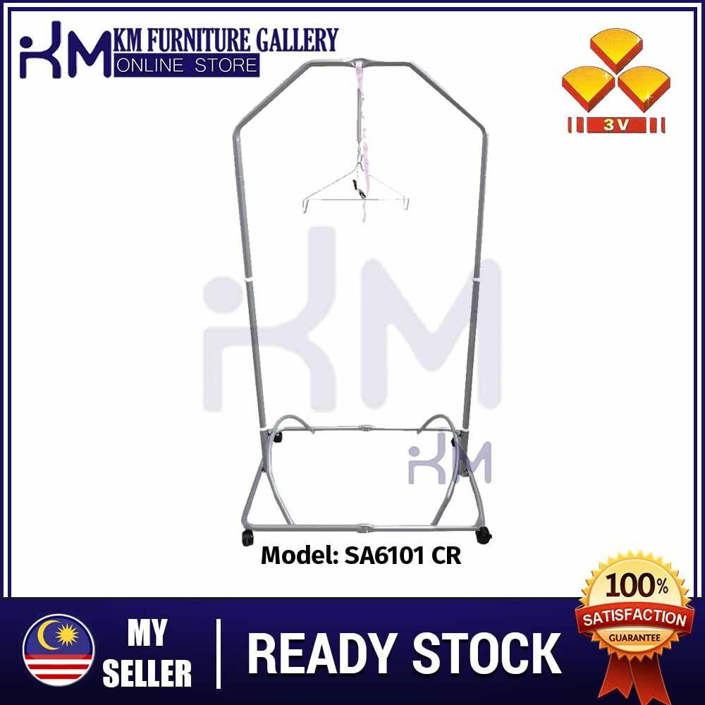 KM Furniture 3V SA6101CR Baby Stand Spring Cot/ Buaian Bayi/ Baby Cradle Swing/ Bayi Sarung Stand  KMSA6101CR