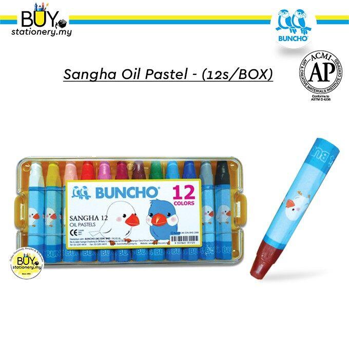 Buncho Sangha Oil Pastel - (12s/BOX)