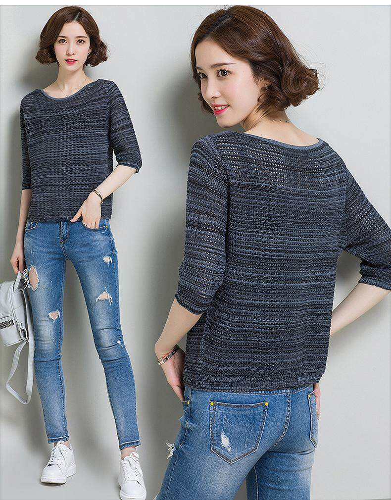 JYS Fashion Korean Style Women Knit Top Collection 512-1137