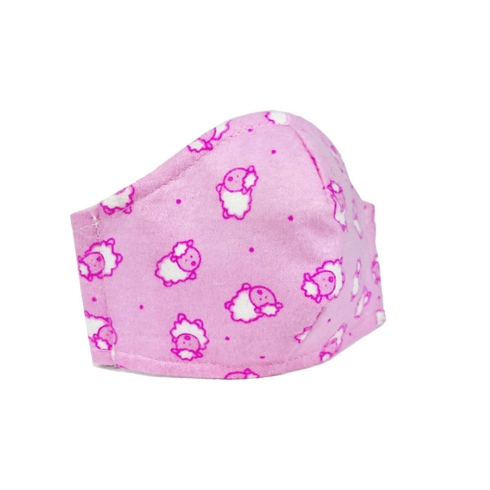 Poly-Pac Kid Washable & Reusable 3 Layer Cute Face Mask