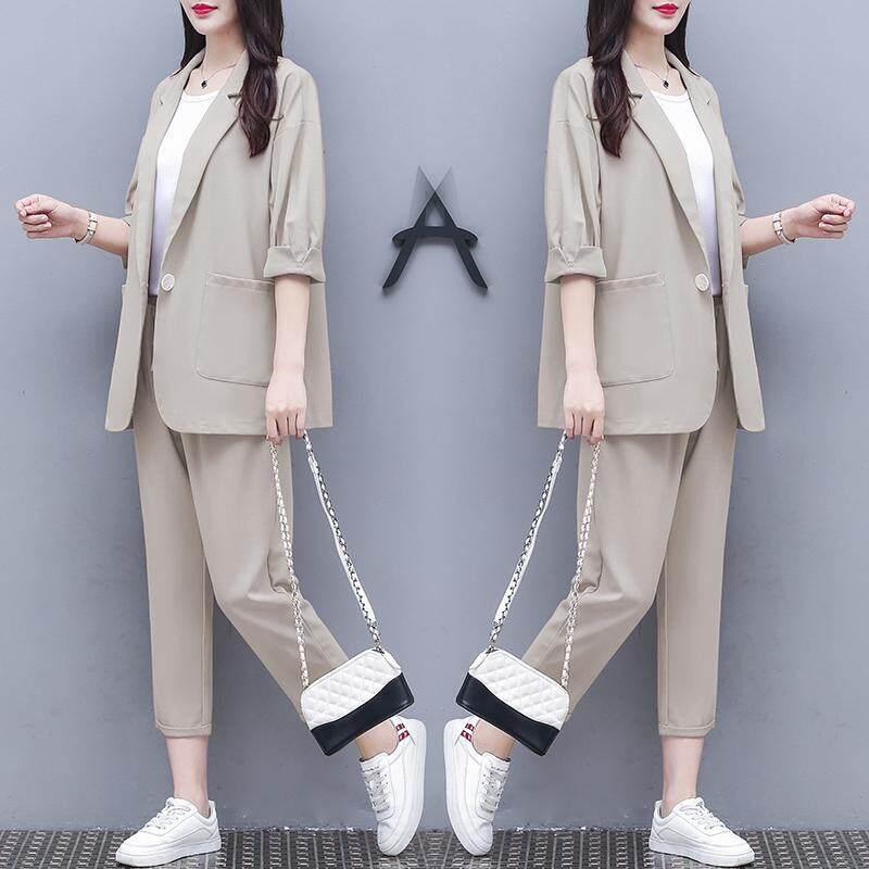 (Pre Order14 Days JYS Fashion Korean Style Women Blazer Suit Collection 525a-5963col525a-5963--Beige-S