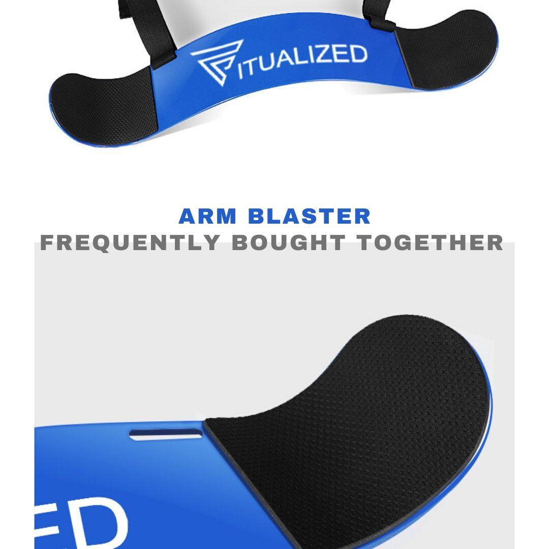 FITUALIZED Bfr Bands For Safe Blood Flow Restriction Training- Numbers To Track For Accuracy & Symmetry- Arms & Legs- 4 Pack- Gain Lean Muscles Faster Now- Occlusion Training- KAATSU Alternative- Bodybuilding, Fitness, Rehab, Gym, Exercise, Workout